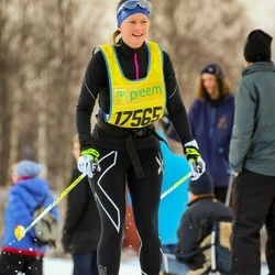 Skiing 90 km - Jennie Andersson (17565)