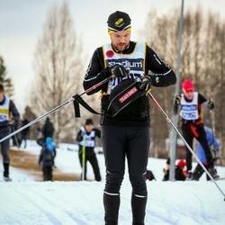 Skiing 90 km - Henrik Ricknell (11687)