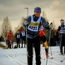 Skiing 90 km - Erik Lindh (8893)