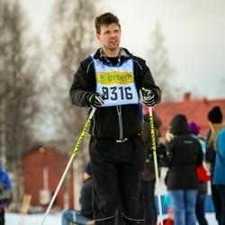 Skiing 90 km - Henrik Saarela (9316)