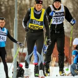Skiing 90 km - Fredrik Olsson (7850), Kari Peersen (19096)