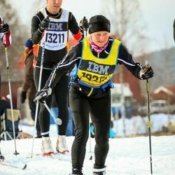 Skiing 90 km - Fredrik Malmberg (13211), Kirsten Bak Hansen (18215)