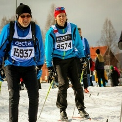 Skiing 90 km - Christoffer Antonsson (9574), Arild Örmen (15937)