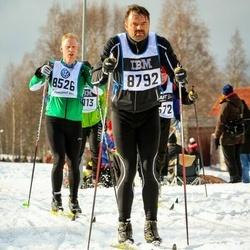 Skiing 90 km - Henrik Runnander (8526), Sigurjón Vilbergsson (8792)