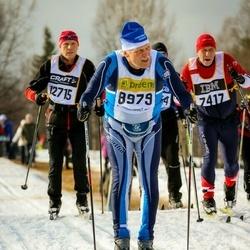 Skiing 90 km - Claes Hellström (7417), Anders Johnsson (8979)