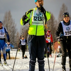 Skiing 90 km - Søren Mensal Kristensen (12136)