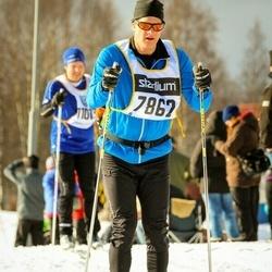 Skiing 90 km - Fredrik Herou (7862)