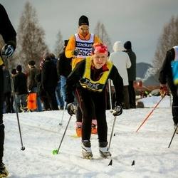 Skiing 90 km - Daniel Löfkvist (15625), Emma Lindqvist (17337)