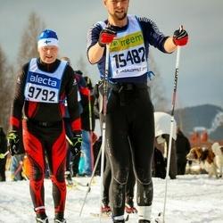 Skiing 90 km - Caj Malmsten (9792), Jesper Hoffmann (15482)