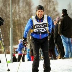 Skiing 90 km - Henrik Hjorth (13603)