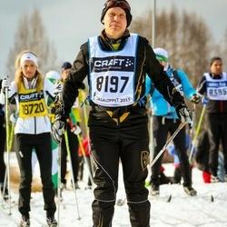 Skiing 90 km - Fredrik Sandgren (8197)