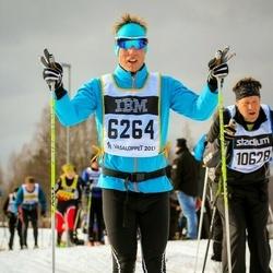 Skiing 90 km - Johan Berg (6264)