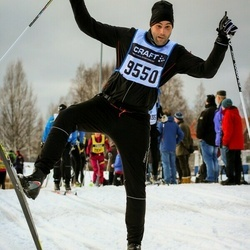 Skiing 90 km - Mattias Wåhlberg Von Knorring (9550)