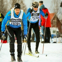Skiing 90 km - Peter Sahlin (7530), Christian Linde (13681)