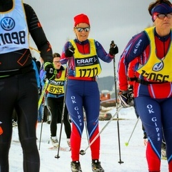Skiing 90 km - Caroline Stenström (17717)
