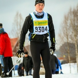 Skiing 90 km - Alfred Appelros (9304)