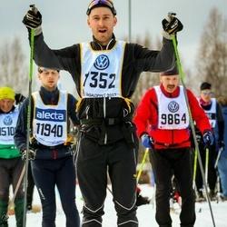 Skiing 90 km - Jonas Morén (7352)