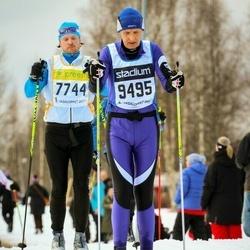 Skiing 90 km - Andreas Mörck (7744), Arne Erlands (9495)