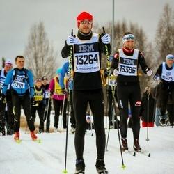 Skiing 90 km - Alexander Ossinger (13264), Joakim Olsson (13396)
