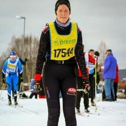 Skiing 90 km - Jennie-Ann Svensson (17544)