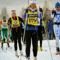 Skiing 90 km - Ingalill Skoog (17754), Jeanette Skoog (18085)