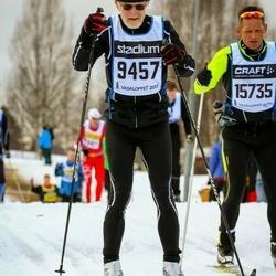 Skiing 90 km - Björn Már Ólafsson (9457), Ed Janssens (15735)