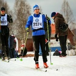 Skiing 90 km - Anders Bengtsson (9974)