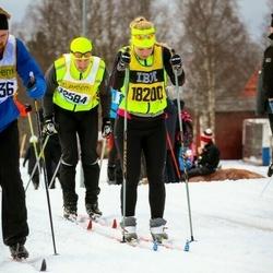 Skiing 90 km - Björn Evbjer (12584), Ellen Evbjer (18200)
