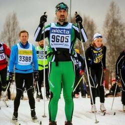 Skiing 90 km - Björn Edlund (9605)