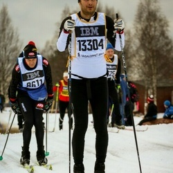 Skiing 90 km - Henrik Bergenholtz (13304)