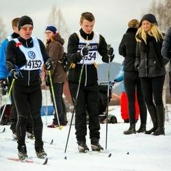 Skiing 90 km - Tomas Johansson (12634), Anders Grände (14132)
