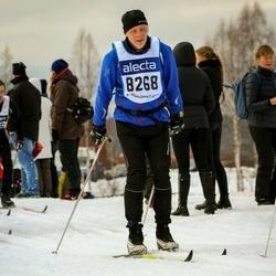 Skiing 90 km - Christer Hedberg (8268)