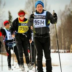 Skiing 90 km - Christian Fajers (9514), Eva Drakenberg (17308)