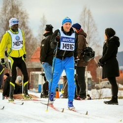 Skiing 90 km - Deogracious Piero Mukisa (14074), Raoul Zetterström (14916)