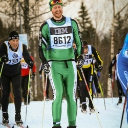 Skiing 90 km - Henrik Andersson (8612)