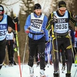 Skiing 90 km - Patrik Wernklev (9036), Eirik Selsaas (12662)