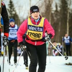 Skiing 90 km - Agneta Andersson (17986)