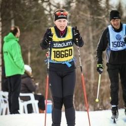 Skiing 90 km - Cecilia Häggroth (18660)