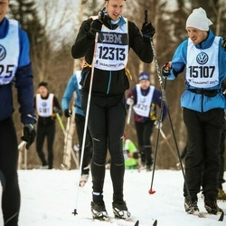 Skiing 90 km - Tim Wihlborg (12313), Emil Jansson (15107)