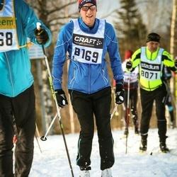 Skiing 90 km - Henrik Rubensson (8169)