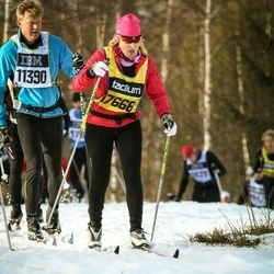 Skiing 90 km - Pontus Bodelsson (11390), Åsa Asplund (17668)