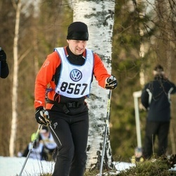 Skiing 90 km - Christer Johannesson (8567)