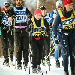 Skiing 90 km - Anders Lundin (8210), Hanna Nilsson (17339)