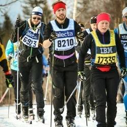 Skiing 90 km - Eirik Bossel (6923), Anders Lundin (8210)