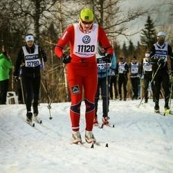 Skiing 90 km - Anders Bakke Krogvig (11120)