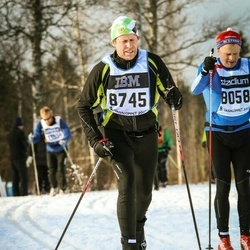 Skiing 90 km - Bengt Svensson (8745)