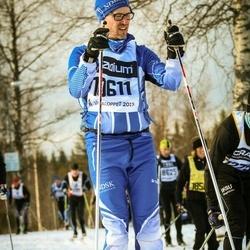 Skiing 90 km - Anders Lyrén (10611)