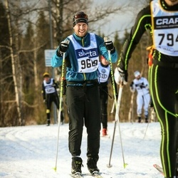 Skiing 90 km - Anders Abelsson (9668)
