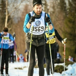 Skiing 90 km - Carl Andersson (8569)