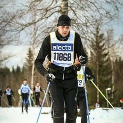 Skiing 90 km - Fredrik Westerberg (11868)